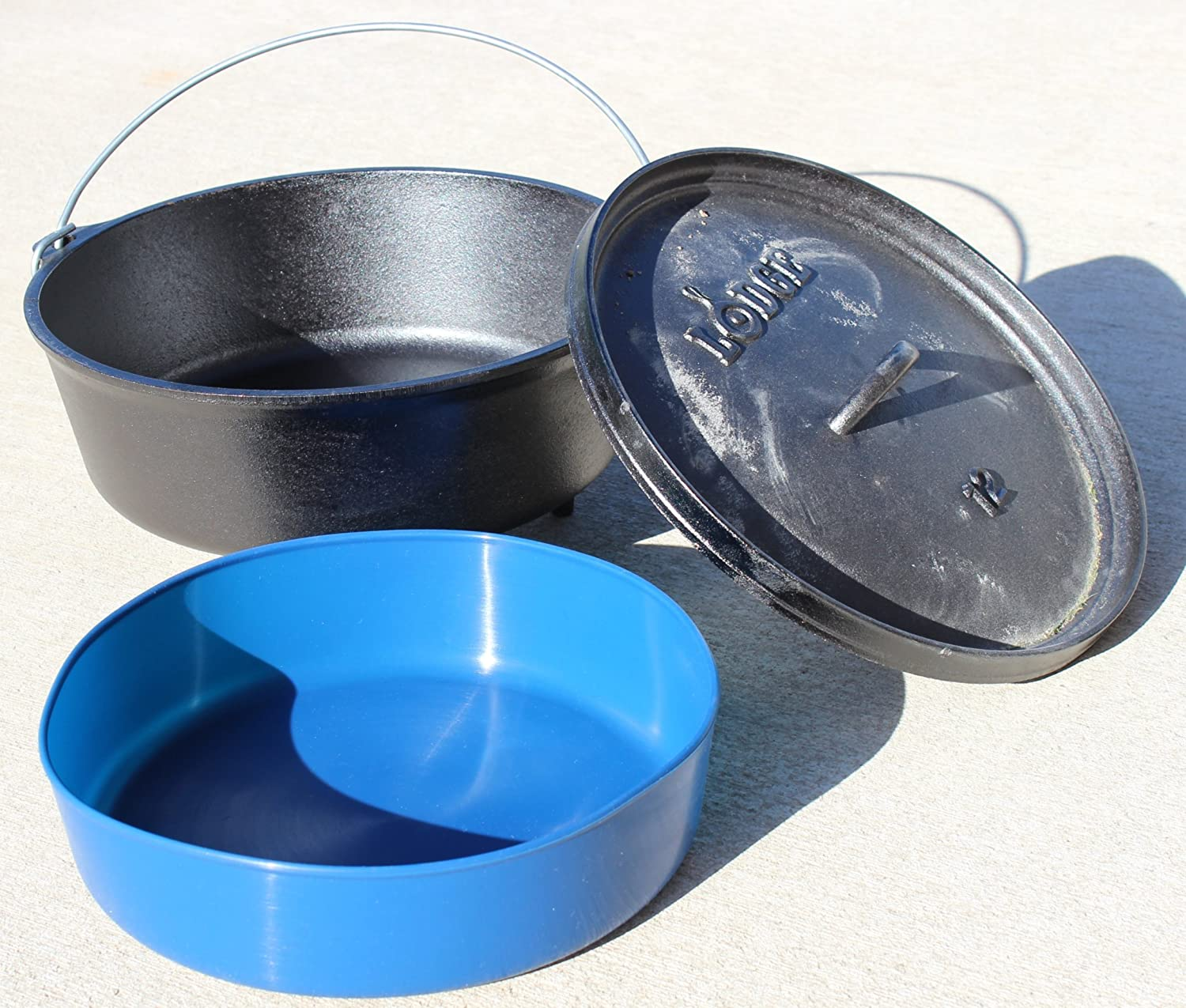 "12"" 6 Quart Re-Usable Dutch Oven Silicone Liner"