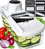 Fullstar Mandoline Slicer Vegetable Slicer and Vegetable Grater - Potato Slicer Food Slicer Veggie Slicers Mandoline…