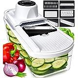 Fullstar Mandoline Slicer Vegetable Slicer and Vegetable Grater - Potato Slicer Food Slicer Veggie Slicers Mandoline Slicer C