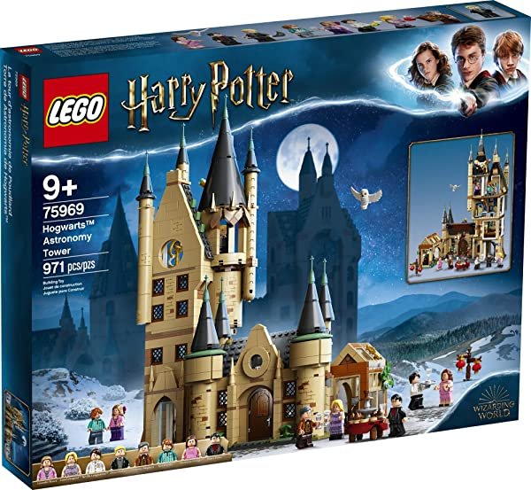 LEGO Harry Potter Hogwarts Astronomy Tower construction building set toy for kids in package
