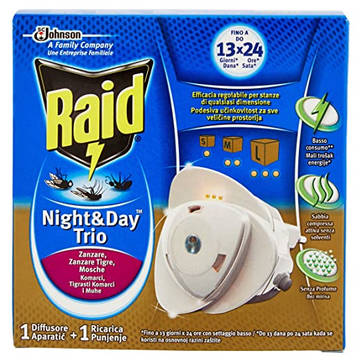 9 opinioni per Raid Night & Day Trio Base