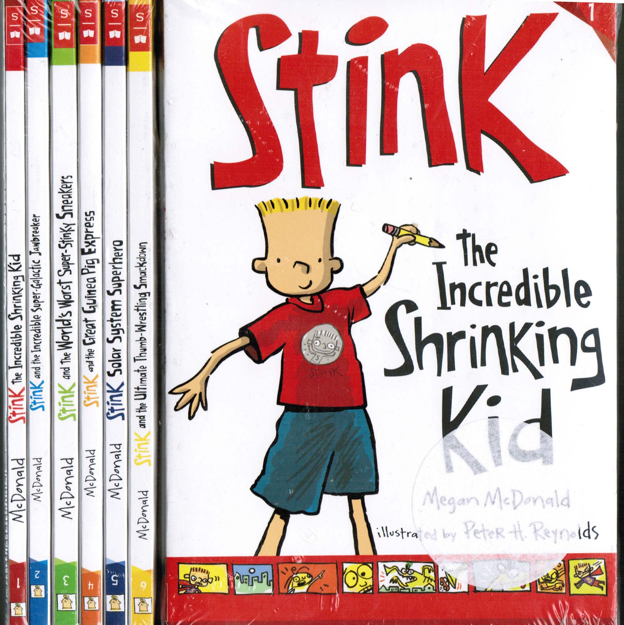 Download Stink 6 Book Set: Incredible Shrinking Kid / Super-galactic Jawbreaker / World's Worst Super-stinky Sneakers / Great Guinea PIG Express / Solar System Superhero / the Ultimate Thumb-wrestling Smackdown PDF