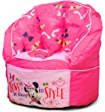 Disney Minnie Toddler Bean Bag Chair, Pink Bean Bag Chair