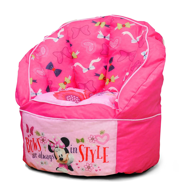Swell Disney Minnie Toddler Bean Bag Chair Pink Bean Bag Chair Creativecarmelina Interior Chair Design Creativecarmelinacom