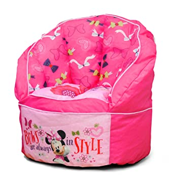 Disney Minnie Toddler Bean Bag Chair Pink