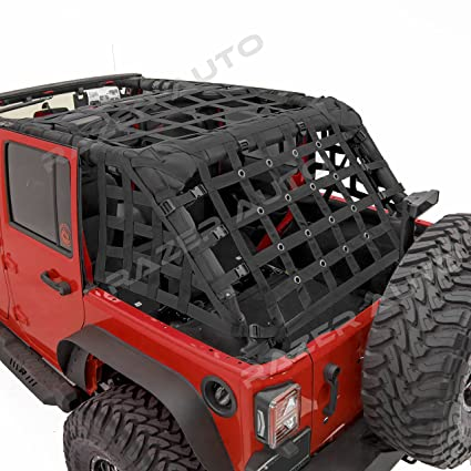 Amazon Com Razer Auto 4 Door Model Only Black Cargo Restraint Net
