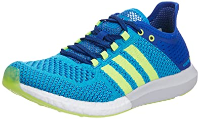 2d6caf0b5f8b Adidas Men s CC Cosmic Boost M Blue and Yellow Mesh Running Shoes ...