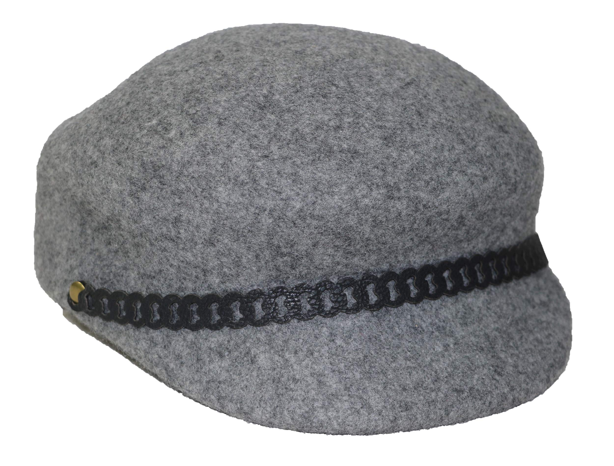 Nine West Felt Newsboy Hat by Nine West