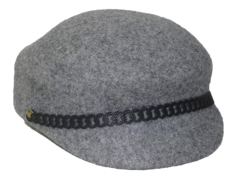 Nine West 100/% Wool Felt Newsboy Womens Hat