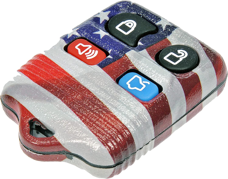Dorman 13607US American Flag Keyless Remote Case
