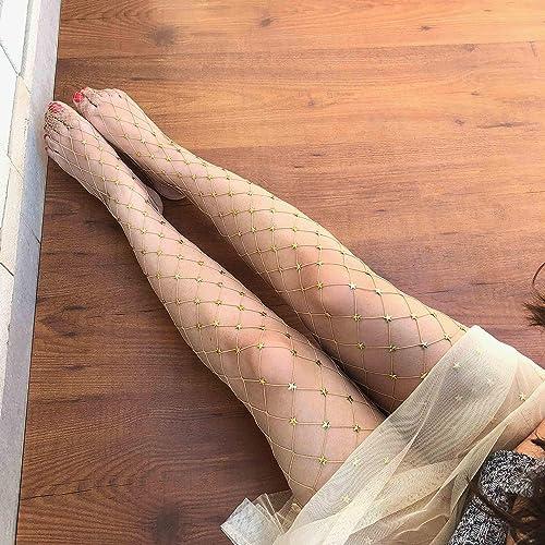 1b992f8734406 Amazon.com: Starstruck (Nude) Fishnet Stockings | Starry Tights | Cosplay  Vintage Pantyhose: Handmade