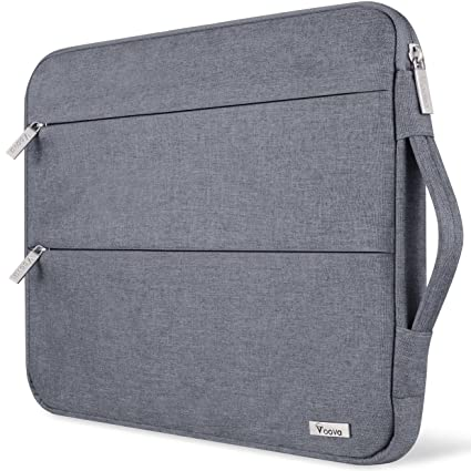 1d4911fec14a Voova 11 11.6 12 Inch Laptop Sleeve Case Cover, Water Resistant Computer  Protective Bag Compatible with MacBook Air 11, Mac 12, Surface Pro 6 5 4 3,  ...
