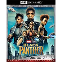 Black Panther 4K Ultra [Blu-ray]