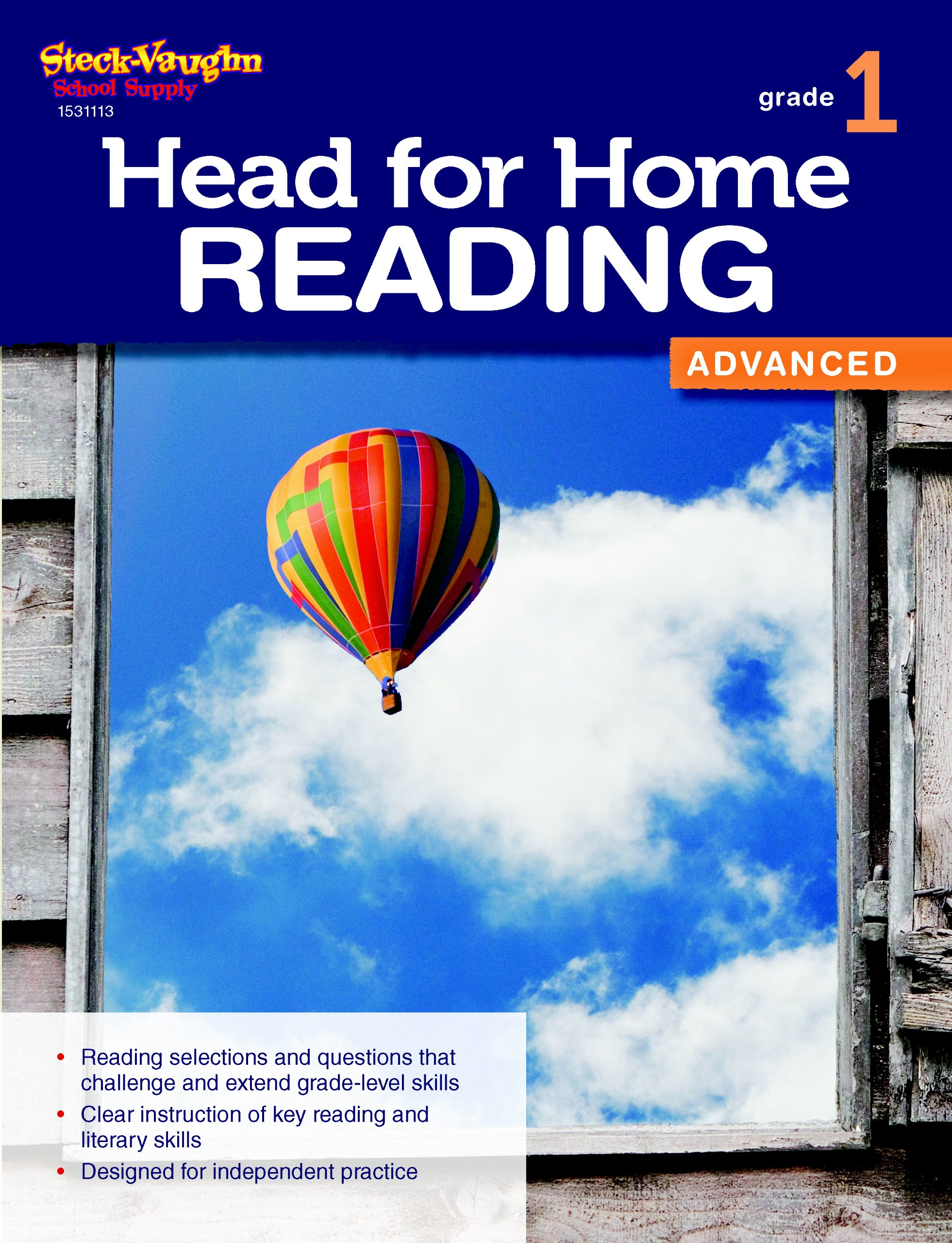 Download Head for Home Reading: Advanced Workbook Grade 1 PDF