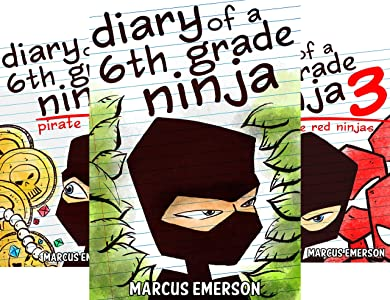 Diary of a 6th Grade Ninja (11 book series) Kindle Edition