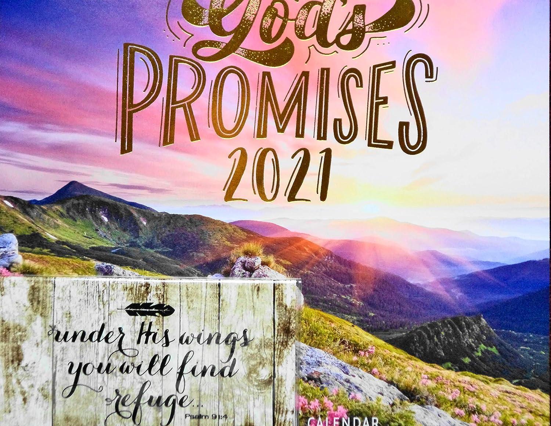 2021 Las promesas de Dios con planificador 2021-2022