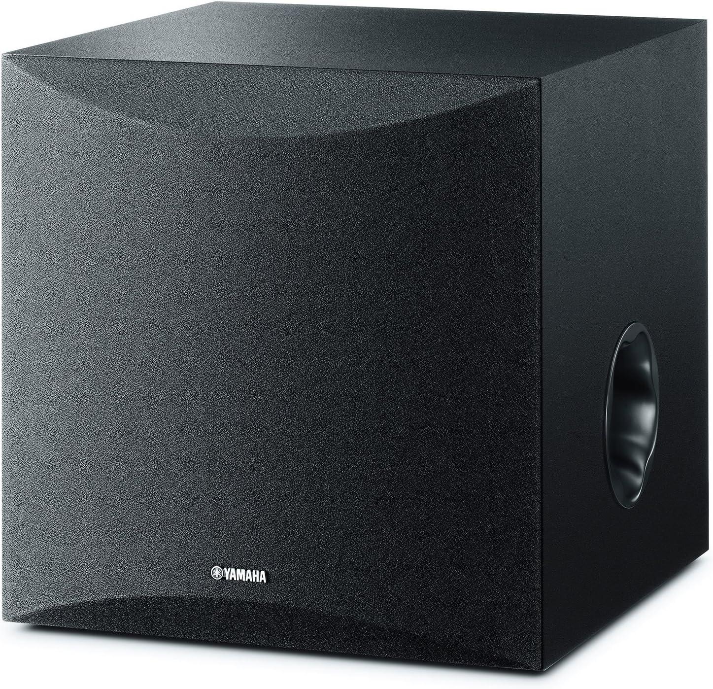 Yamaha NS-SW50 - Altavoz subwoofer Amplificado (28-200 Hz) Color Negro