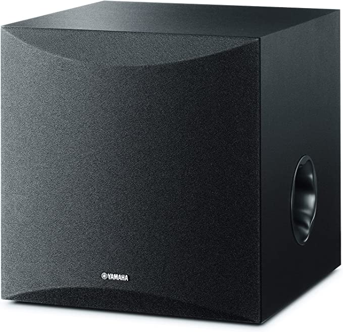 TALLA 28 - 200 Hz. Yamaha NS-SW50 - Altavoz subwoofer amplificado (28 - 200 Hz) color negro
