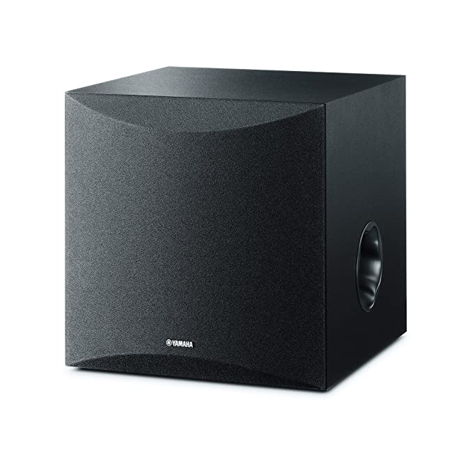 Yamaha NS-SW50 - Altavoz subwoofer Amplificado (28-200 Hz) Color Negro: Amazon.es: Electrónica
