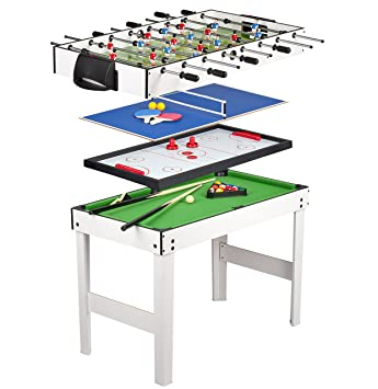 53eef48bd644c Leomark Table 4 Jeux En 1 -Billard