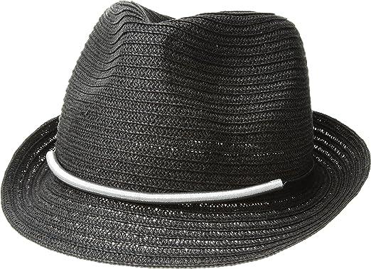 f9a34deacf0 San Diego Hat Company Women s Metallic Bar Trim Fedora Hat