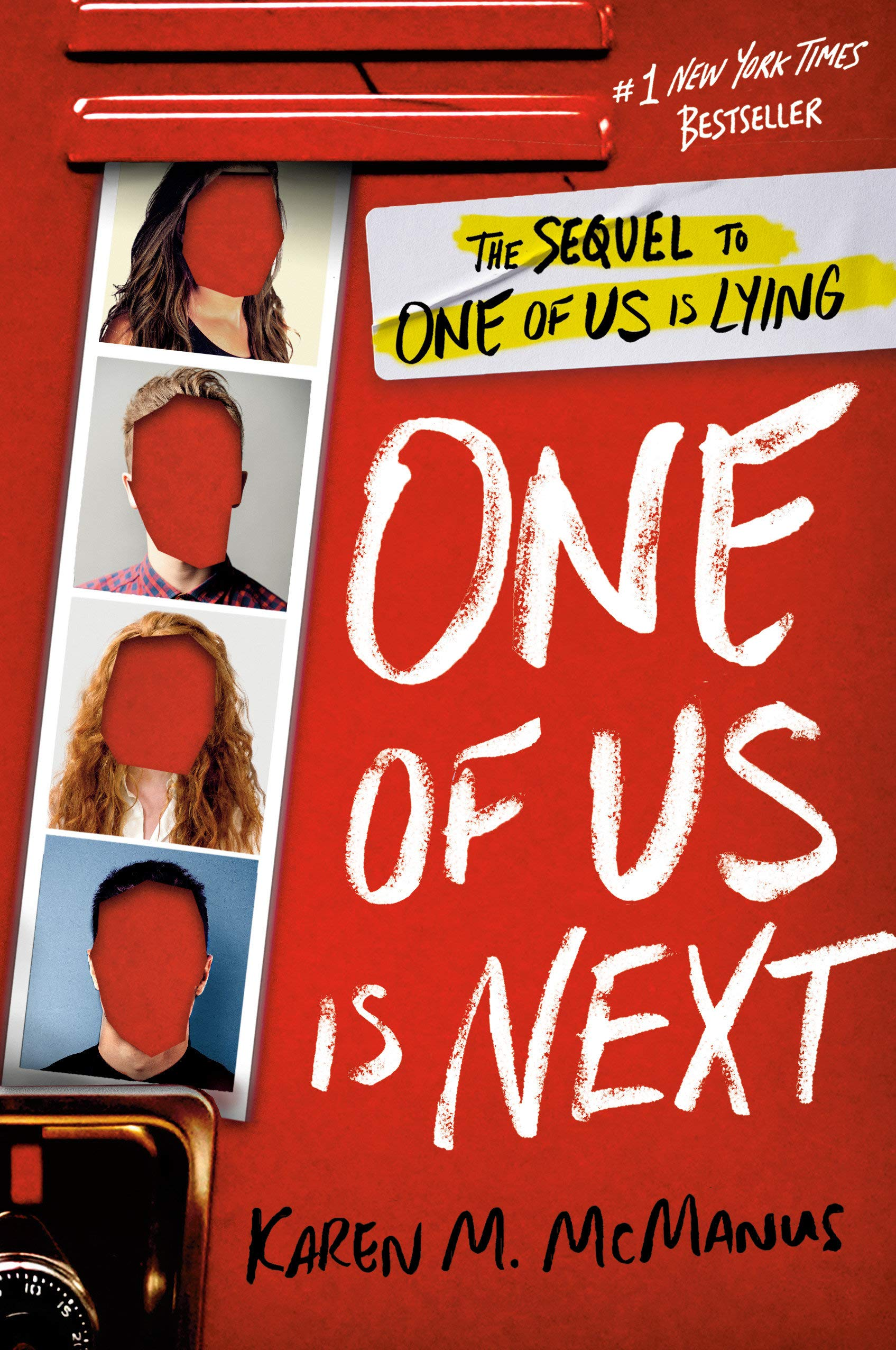 Amazon.com: One of Us Is Next: The Sequel to One of Us Is Lying  (9780525707967): McManus, Karen M.: Books