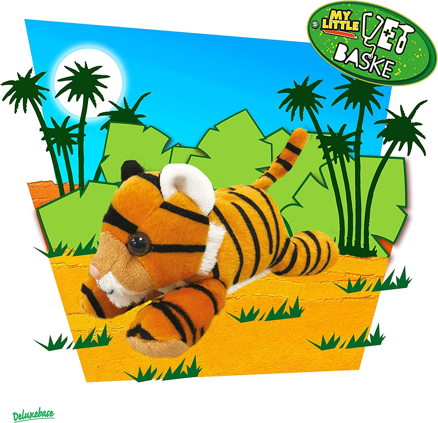 Vet Doctors Toy Set for Kids A cute animal set that is ideal for pretend play Baby Tiger Set from Deluxebase My Little Vet Basket