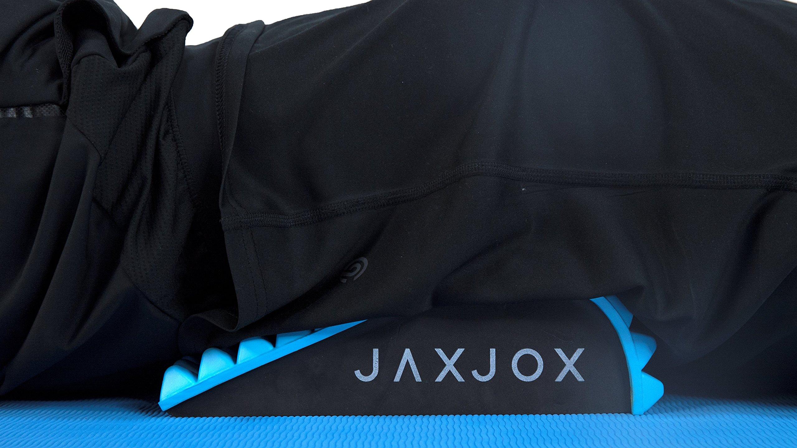 JAXJOX Lumbar Restore Set - Includes: Neck and Back Lumbar Mat and 2 Massage Balls