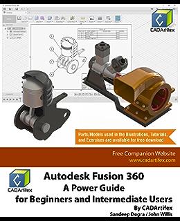Autodesk Fusion 360 Basics Tutorial, Tutorial Books, eBook