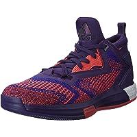 adidas Performance D Lillard 2 Boost Primeknit Basketball Trainers Shoes -Purple
