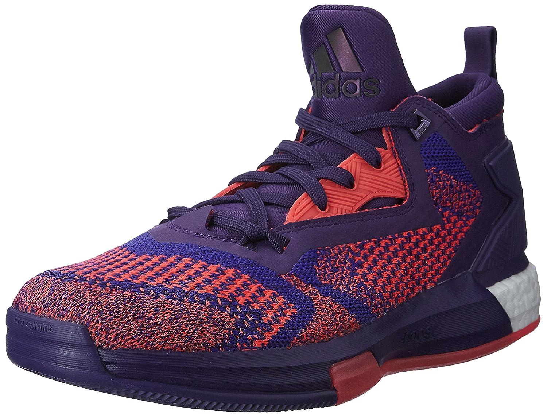 reputable site 384c4 cd576 Amazon.com  adidas Performance D Lillard 2 Boost Primeknit Basketball  Trainers - Purple  Sports   Outdoors