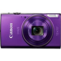 Canon IXUS 285 Compact Camera with 3 inch LCD Screen - Purple