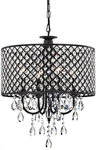 Jojospring Antique 4-Light Round Chandelier