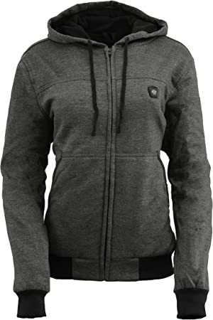 Milwaukee Performance Women/'s Zipper Front Heated Hoodie Black, 2X
