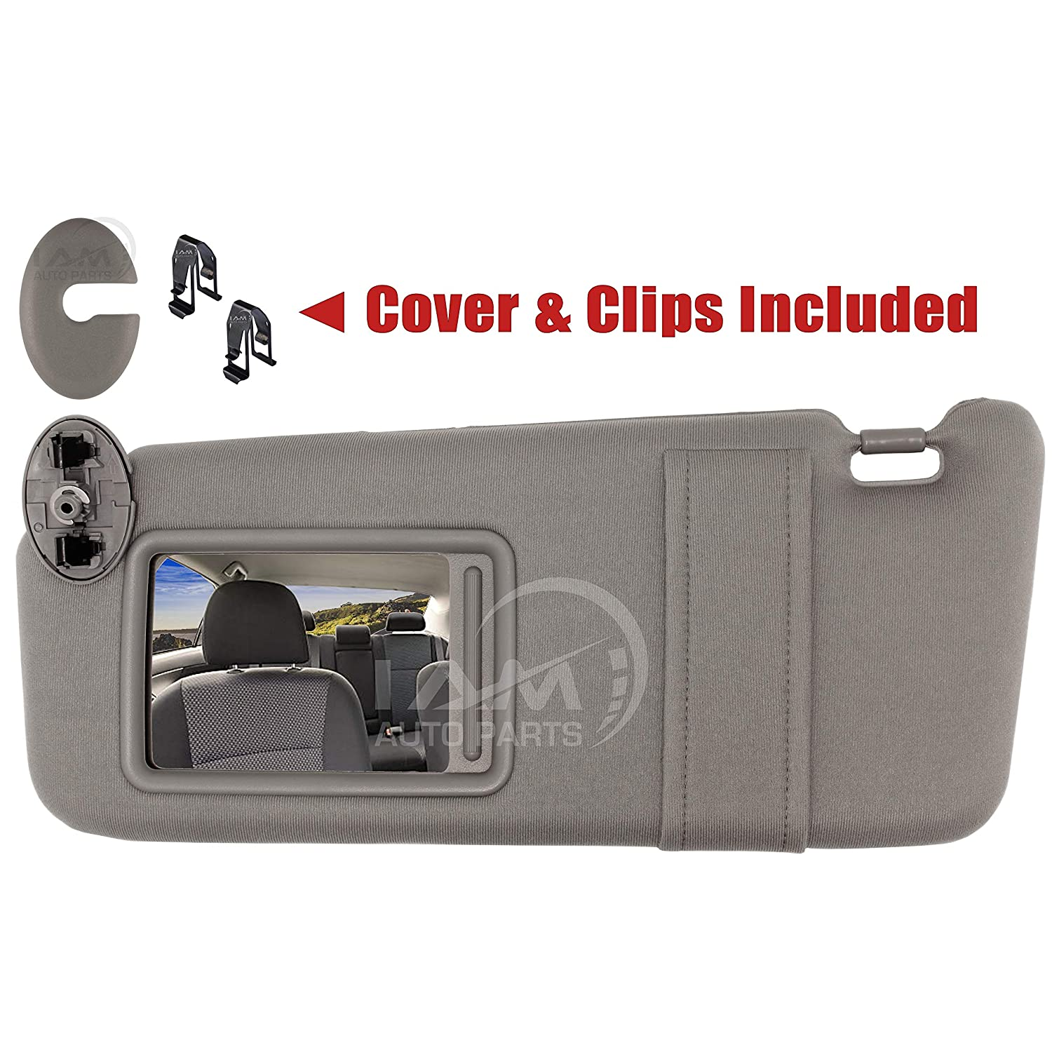 New Drivers Left Side Sun Visor With Sunroof For Toyota Camry 2007-2011