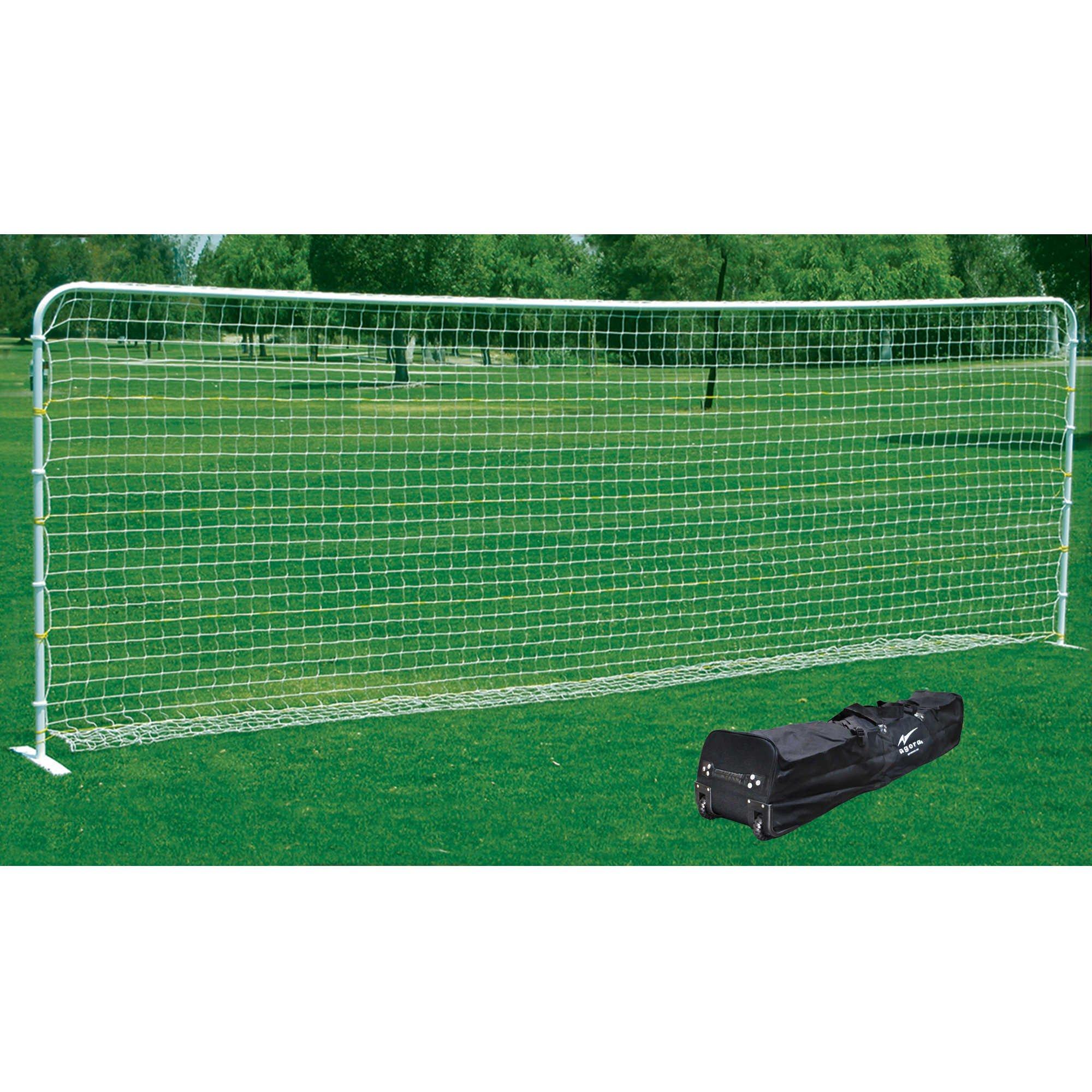 AGORA 6'6''x18' Aluminum Flat Training Goal