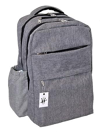 Amazon.com: Gran capacidad mochila con bolsillo multi ...