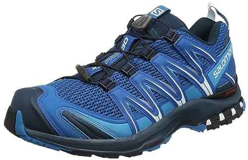 Salomon XA Pro 3D Bleu Noir Bleu Clair Chaussures
