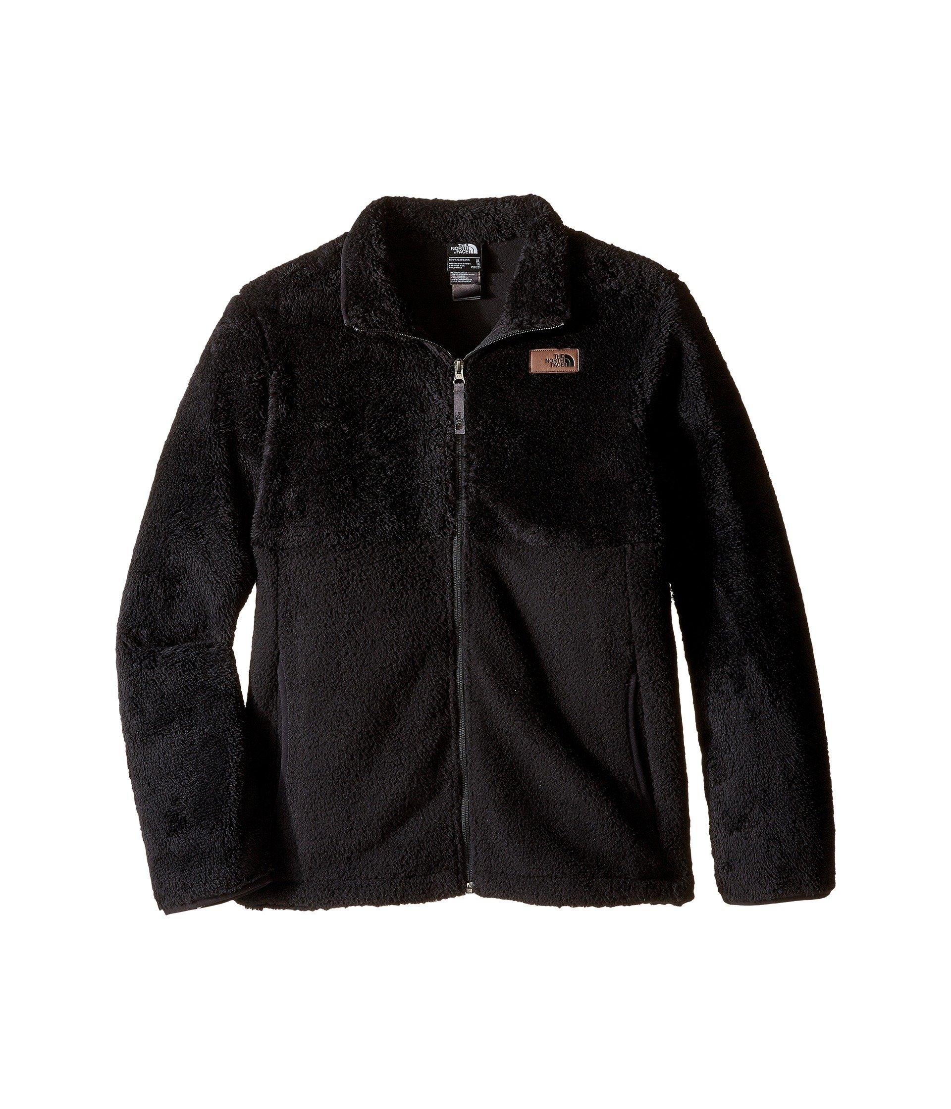 The North Face Sherparazo Jacket Boys' TNF Black Medium