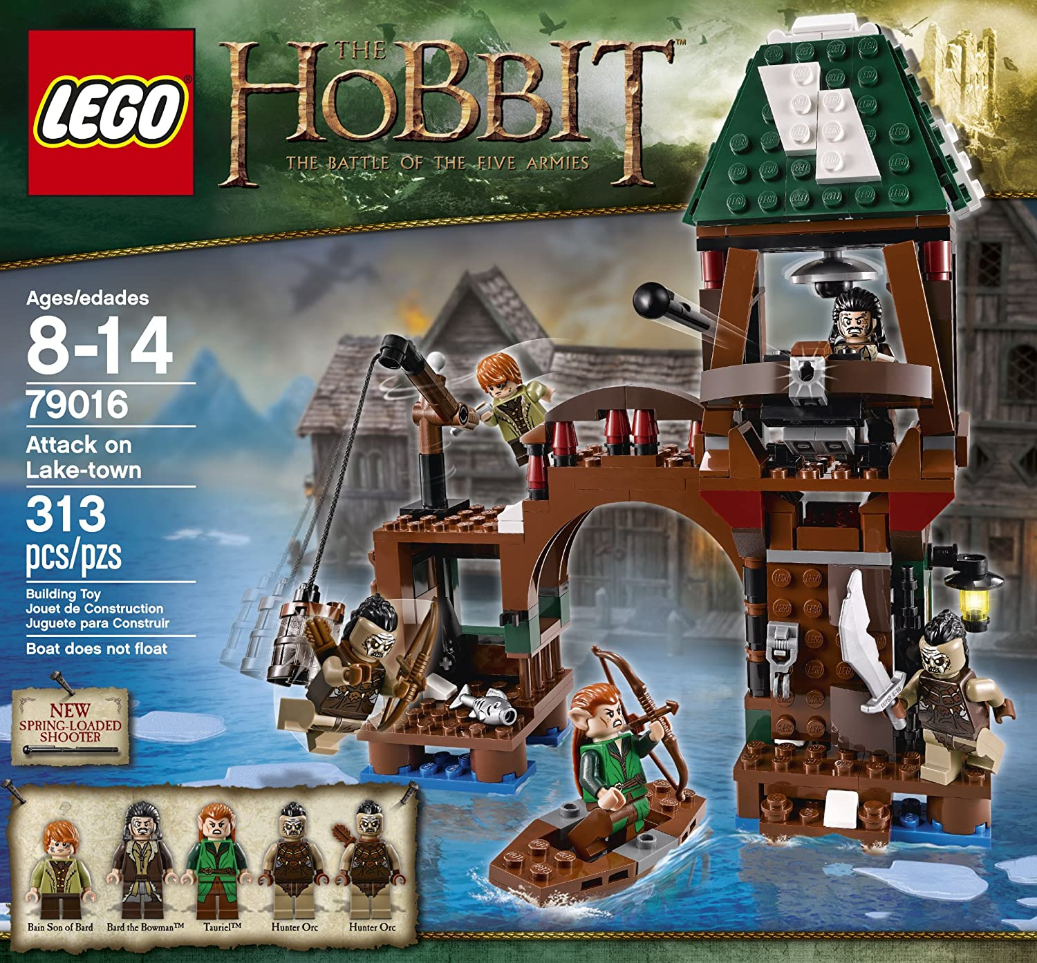 Lego The Hobbit 79016 Attack on Lake-town