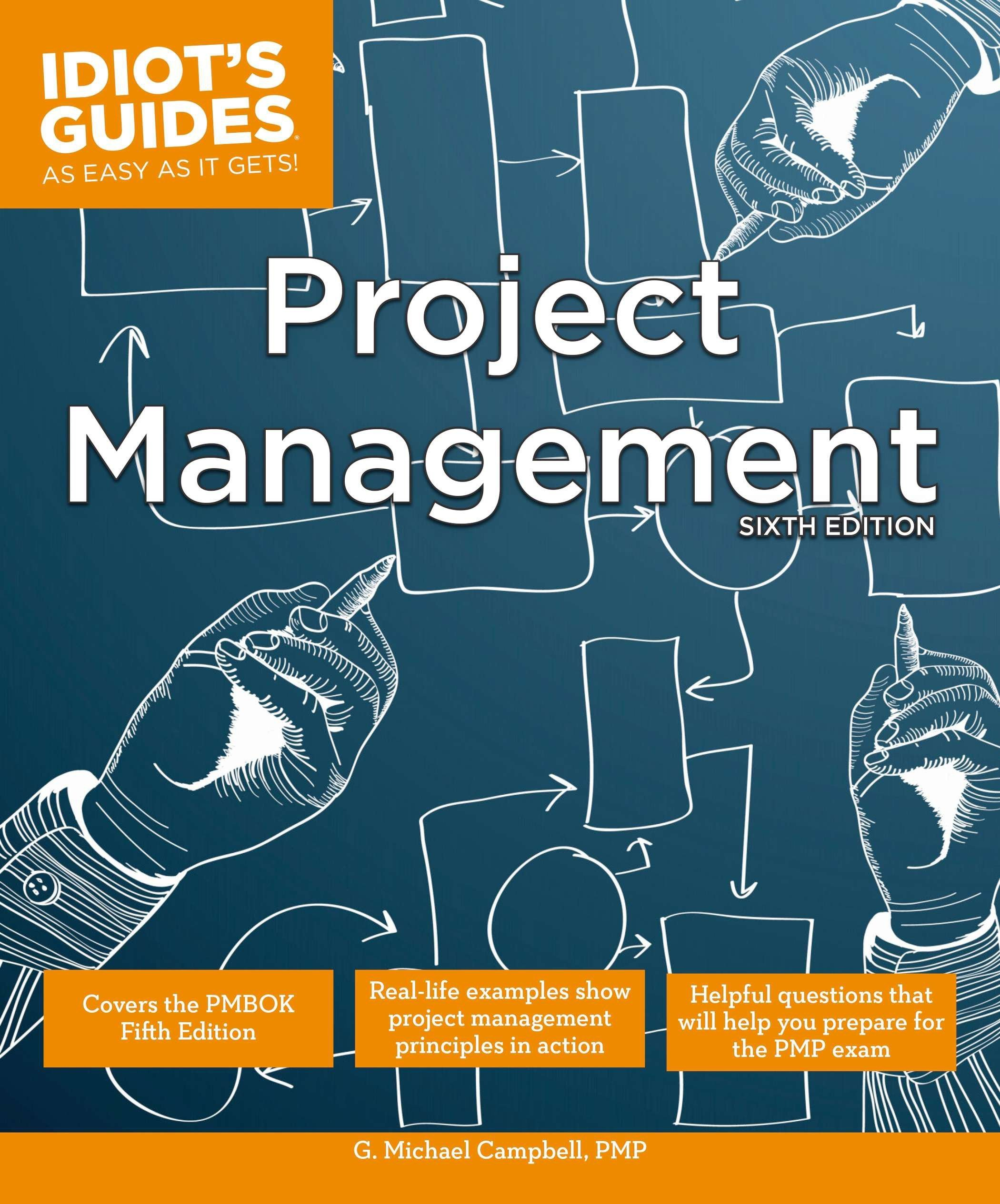 amazon project management sixth edition idiot s guides g