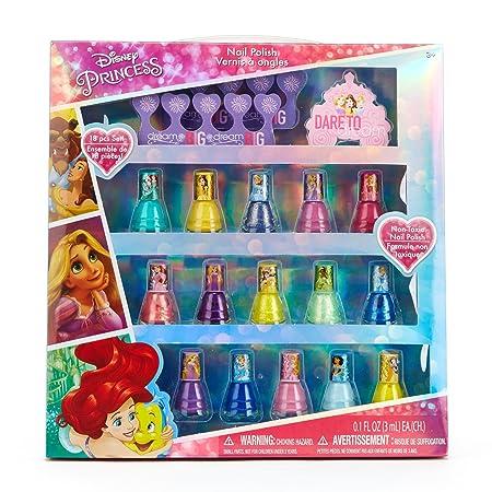 townleygirl dp2824sa Disney Princess Nail Polish Set, 18 ct: Amazon.es: Juguetes y juegos
