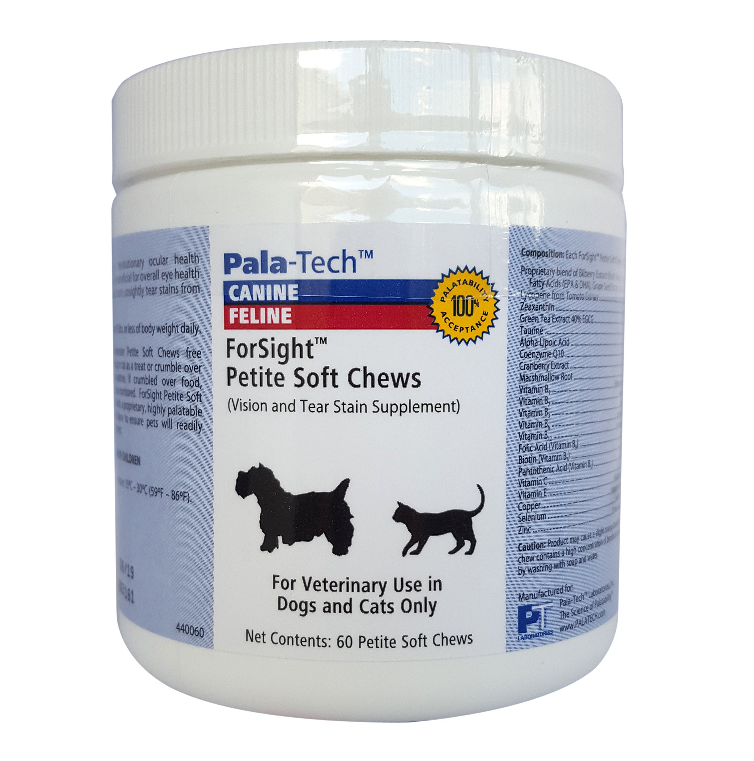 Canine/Feline Forsight Petite Soft Chews