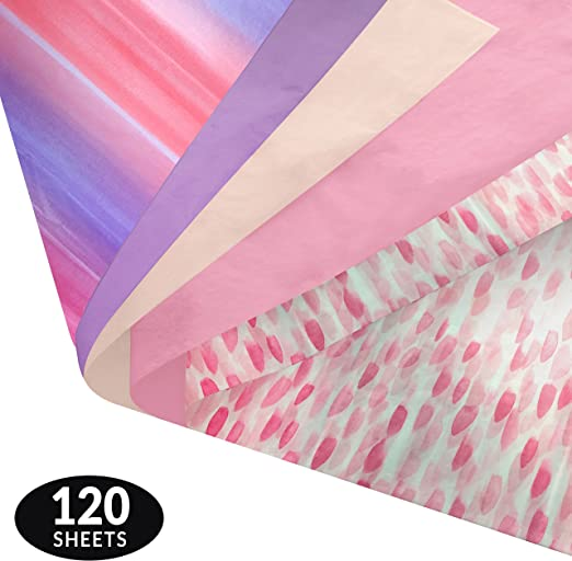 "HOT PINK Tissue Paper for Gift Wrapping 20/""x26/"" Sheets Eco-Friendly"