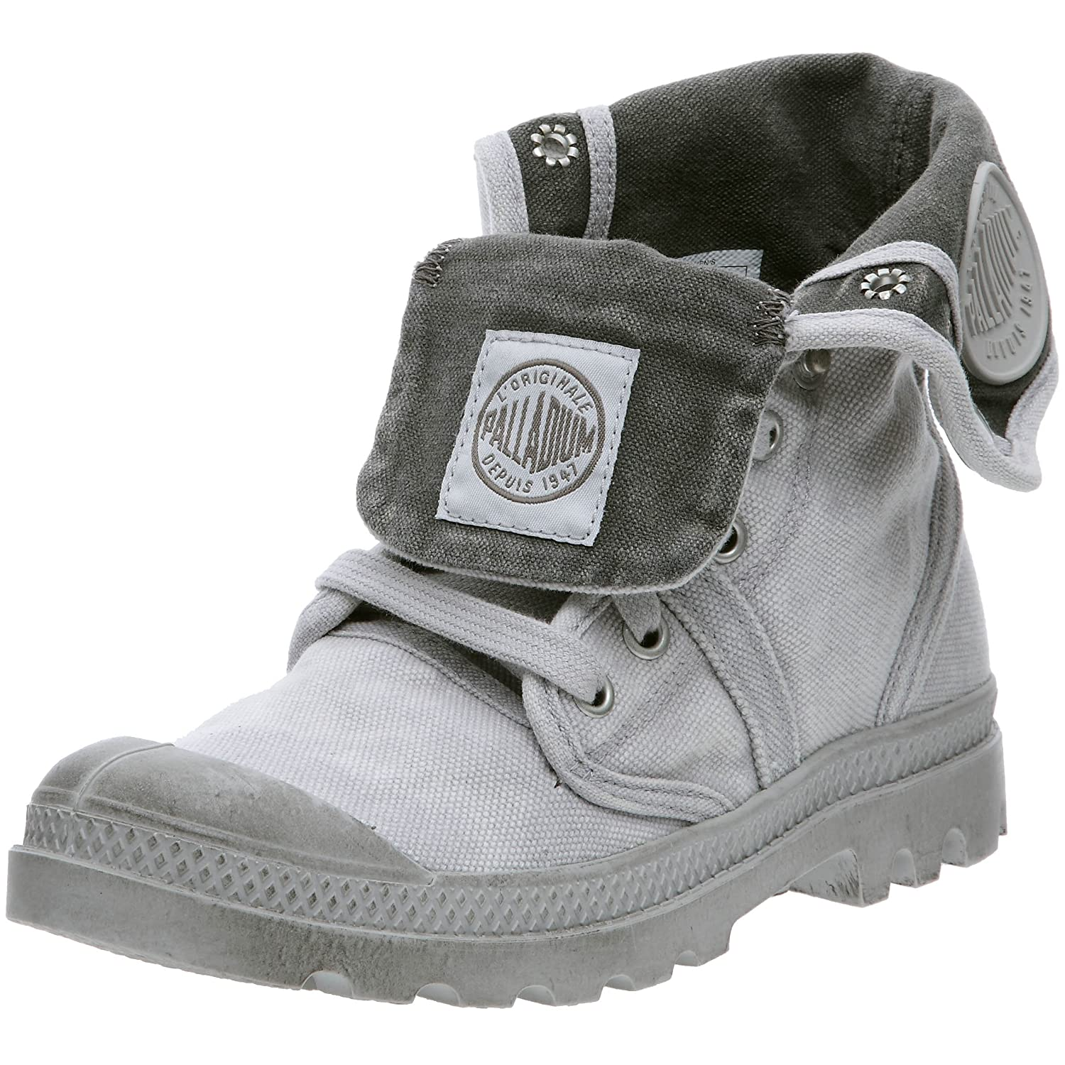 Palladium Us Baggy B01LWDE87D W Us 19004 F, Baskets Hautes Femme Gris (Vapor/ Metal 869) ff0717b - piero.space