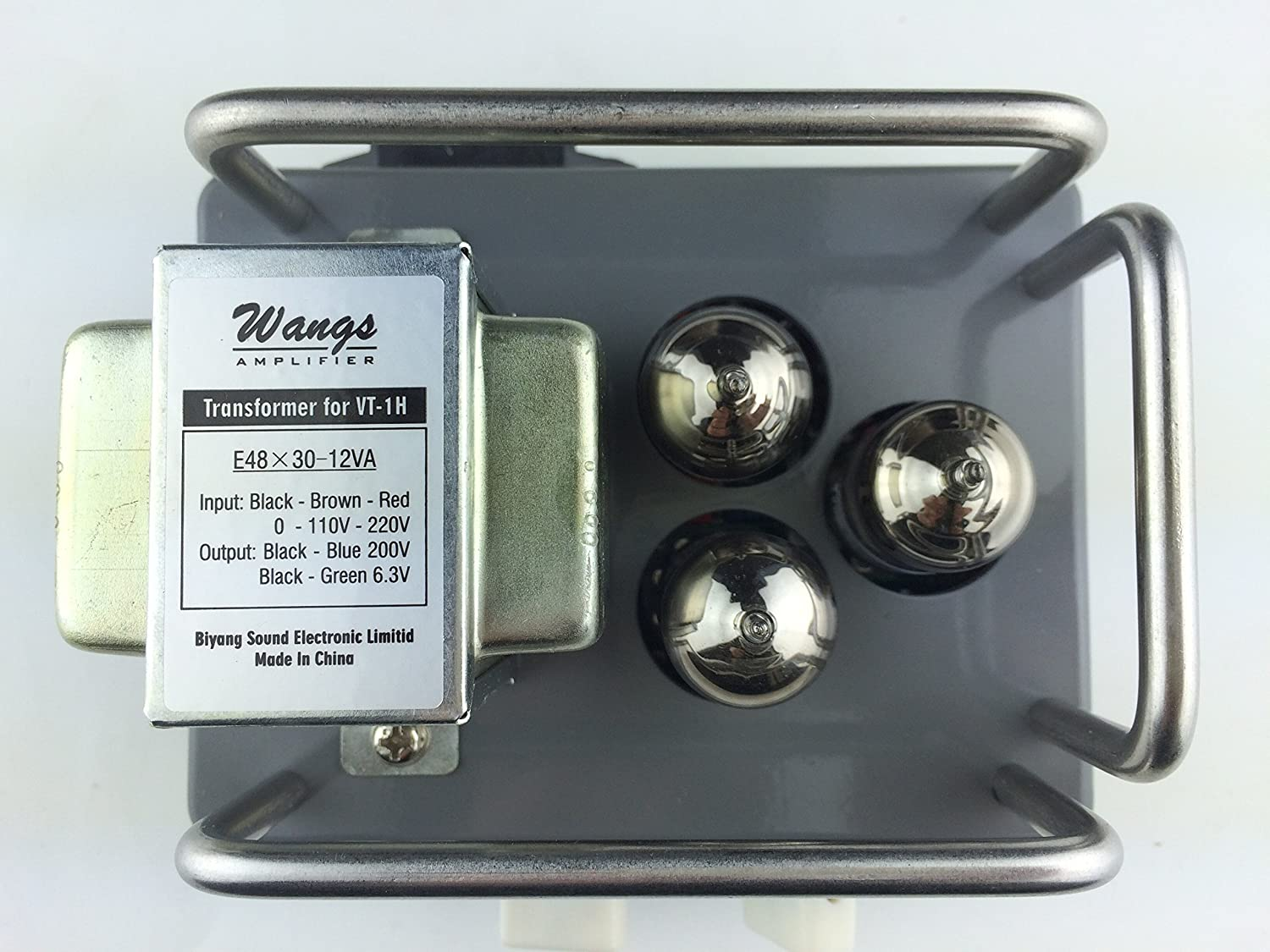 Biyang Wang Amps Vt 1h All Tube 1 Watt Micro Amp Head Higain Speaker Listening Amplifier Circuit Kit Aa5 Compact Powerful Musical Instruments