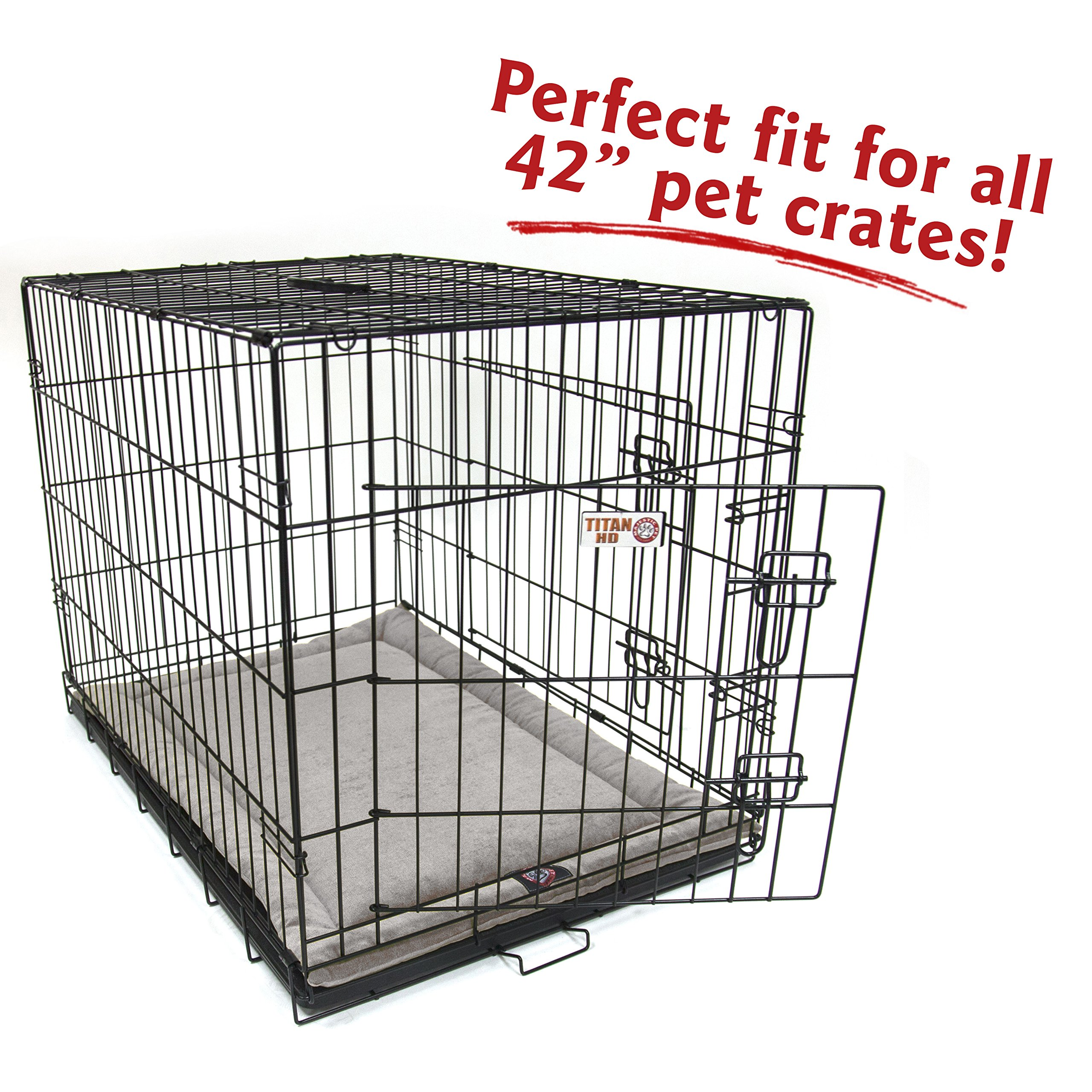 42''  Villa Vintage  Crate Dog Bed Mat By Majestic Pet Products by Majestic Pet (Image #4)