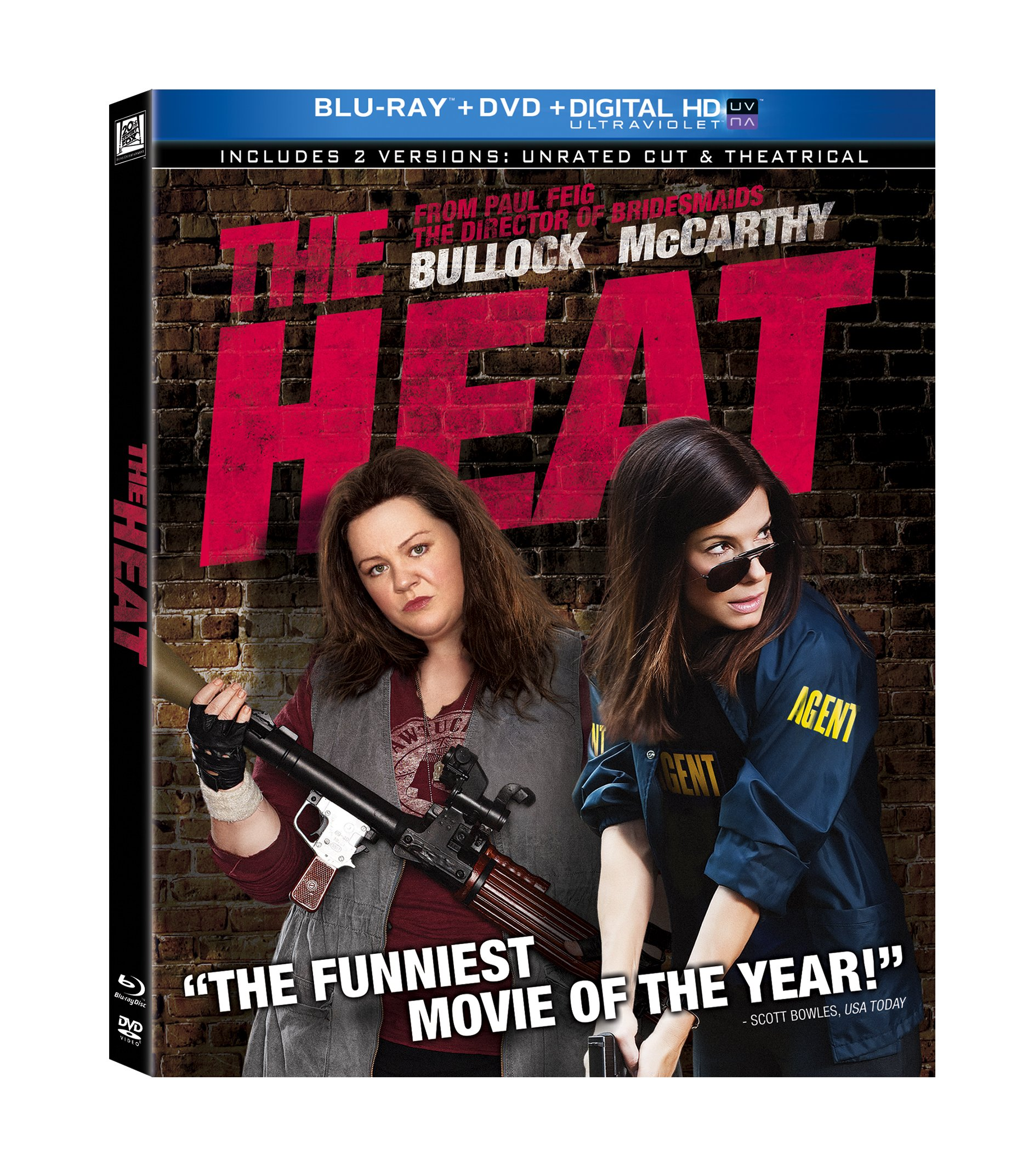 Blu-ray : The Heat (Subtitled, Digital Theater System, AC-3, Dolby, Widescreen) {OU}