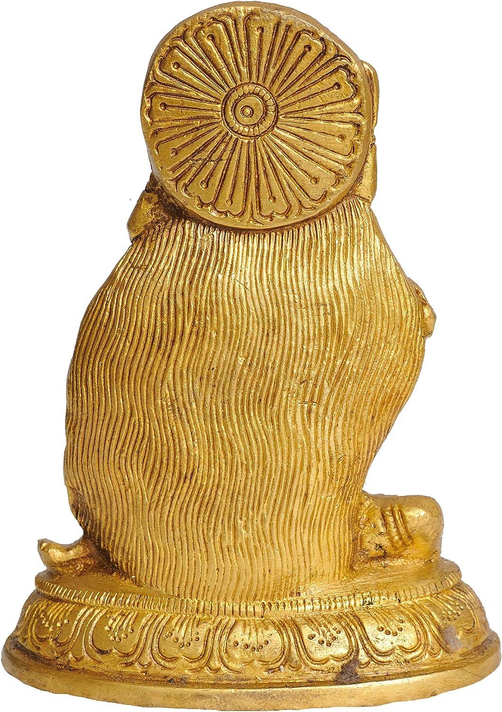 Brass Statue Temple Mother Goddess Kali