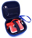 xcivi - Funda rígida de EVA para cámara VTech KidiZoom Creator (azul)